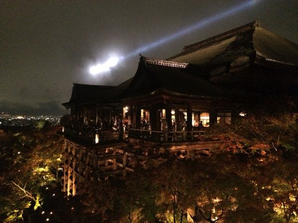 [京都の紅葉]情緒あふれる清水寺の紅葉とライトアップ。むしろ雨の日が最高! | ごりらのせなか