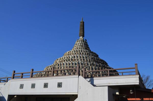 壬生寺の千体仏塔