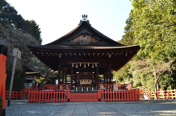 建勲神社の「拝殿」