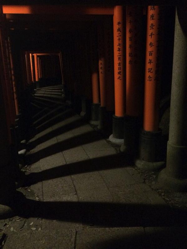 階段なのか影なのかの区別がつかない