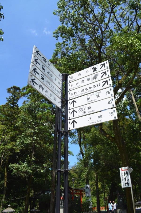 神田の場所を示す看板