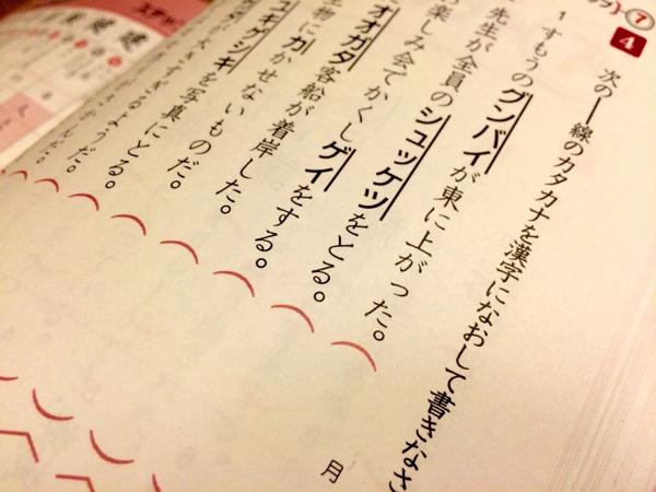 小学生の息子の「漢字検定」対策中にクリエイティブが爆発! 息子の発想が奇抜すぎて勉強どころじゃない! | ごりらのせなか