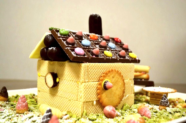 子どもといっしょに楽しむ、お菓子の家づくり! 作り方は? 費用はどれぐらい? | ごりらのせなか