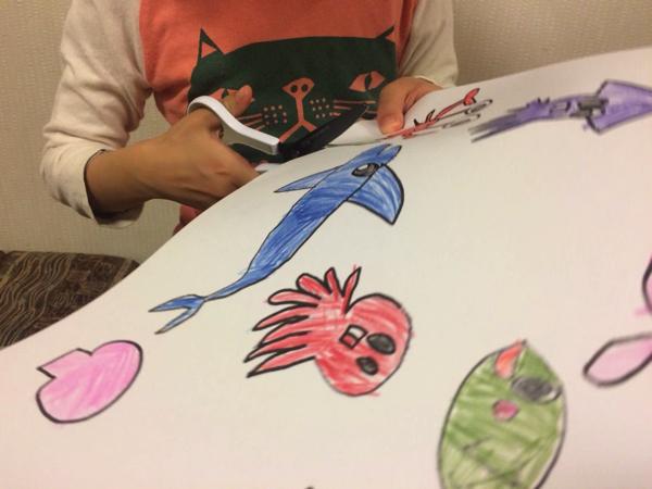 子どもといっしょに楽しもう!「魚釣りゲーム」は子どもが自分で作れる知育玩具! | ごりらのせなか