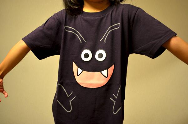 モンスターなりきりTシャツ(ドラキー)