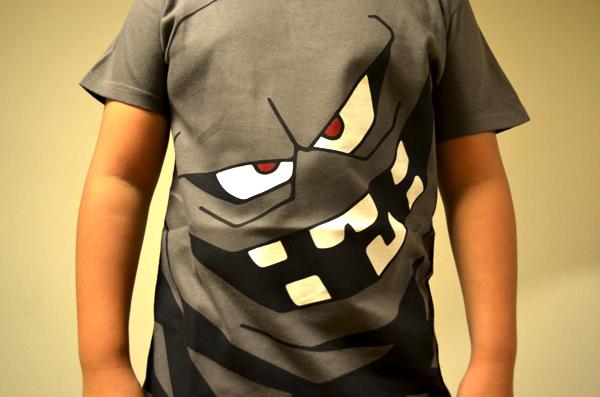 モンスターなりきりTシャツ(ばくだんいわ)