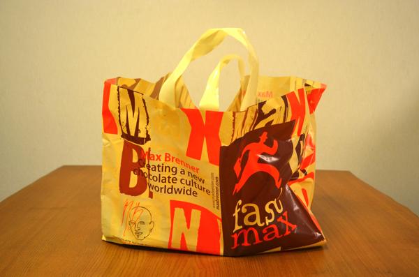 Max Brennerの手提げ袋