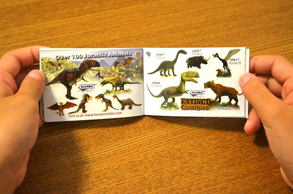 恐竜の種類もたくさんある!