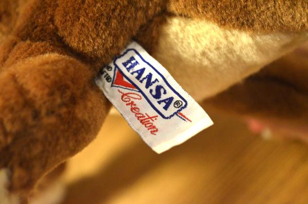 タグには「HANSA」のロゴが