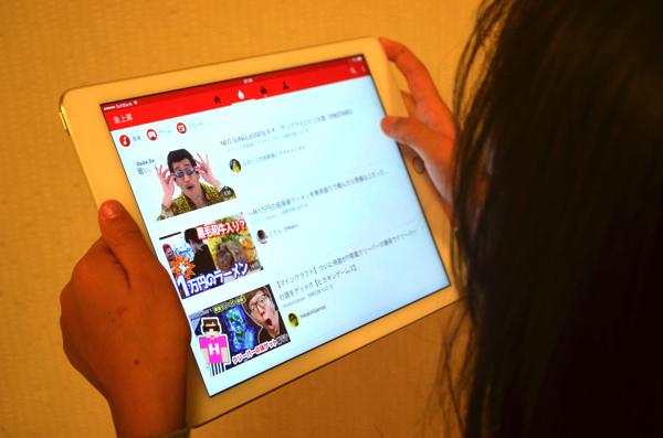 子どもに人気のYouTube