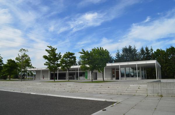 モエレ沼公園の駐車場