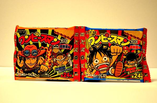 ワンピースマン・超新星編のパッケージ