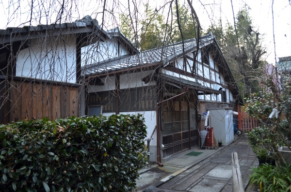 花山稲荷神社の社務所