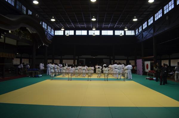 京都市武道センター(旧武徳殿)