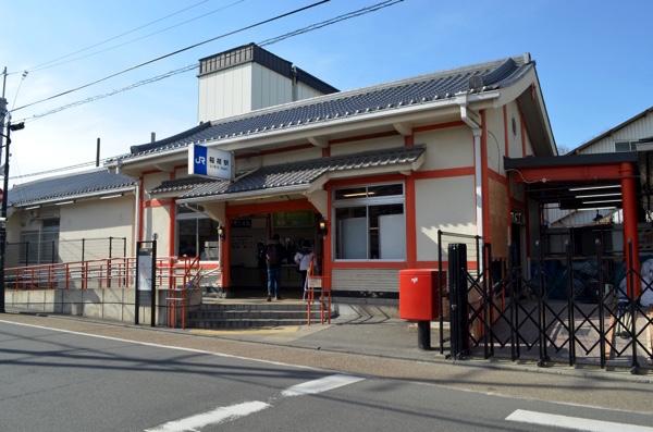 JR奈良線「稲荷」駅