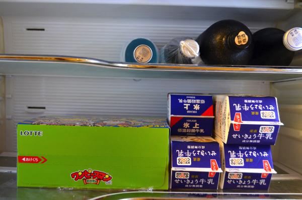 冷蔵庫の中に隠してみる?