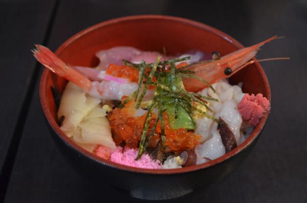 大人気! 海鮮丼