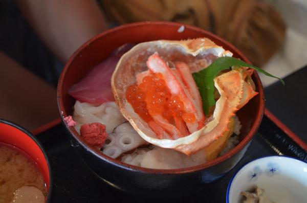 特選海鮮丼定食