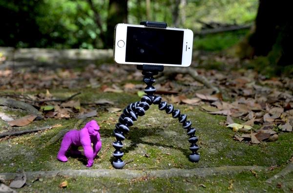 iPhone5sを装着