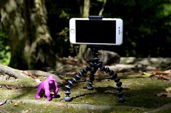 iPhone7を装着