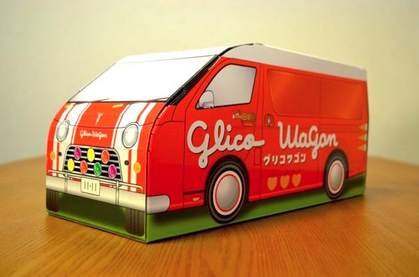 グリコワゴン型BOX