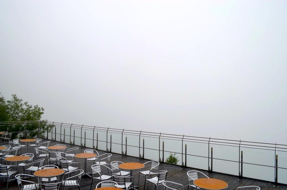 雲海テラス in the cloud!