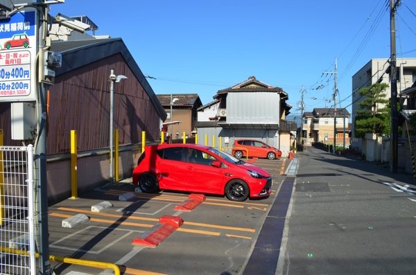 伏見稲荷大社周辺の有料駐車場