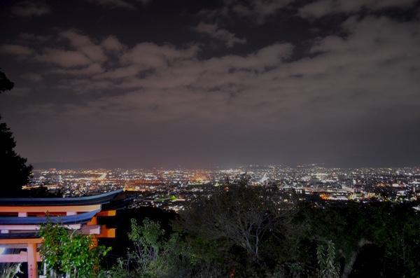 四ツ辻からの夜景