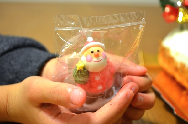 サンタクロースのお菓子