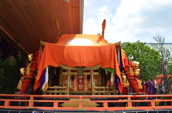 田中社のお神輿