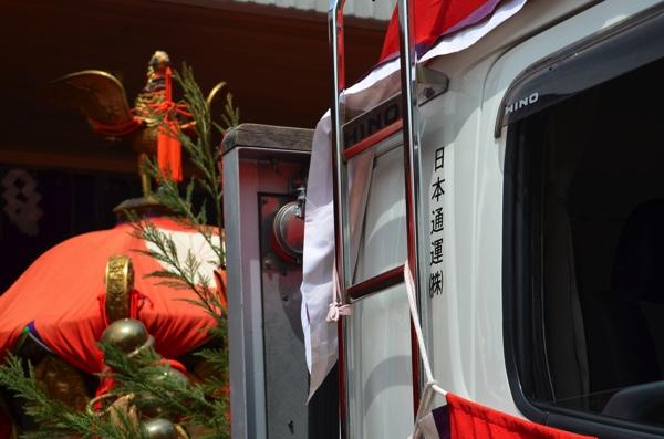 日本通運のトラック