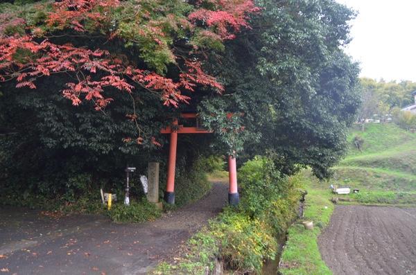 大岩神社の参道入り口