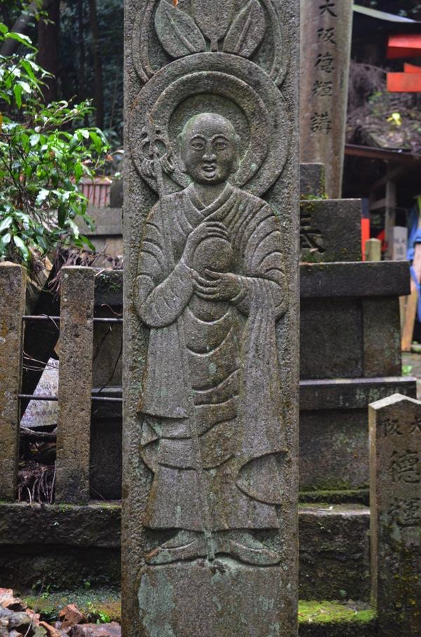 地蔵菩薩の彫刻