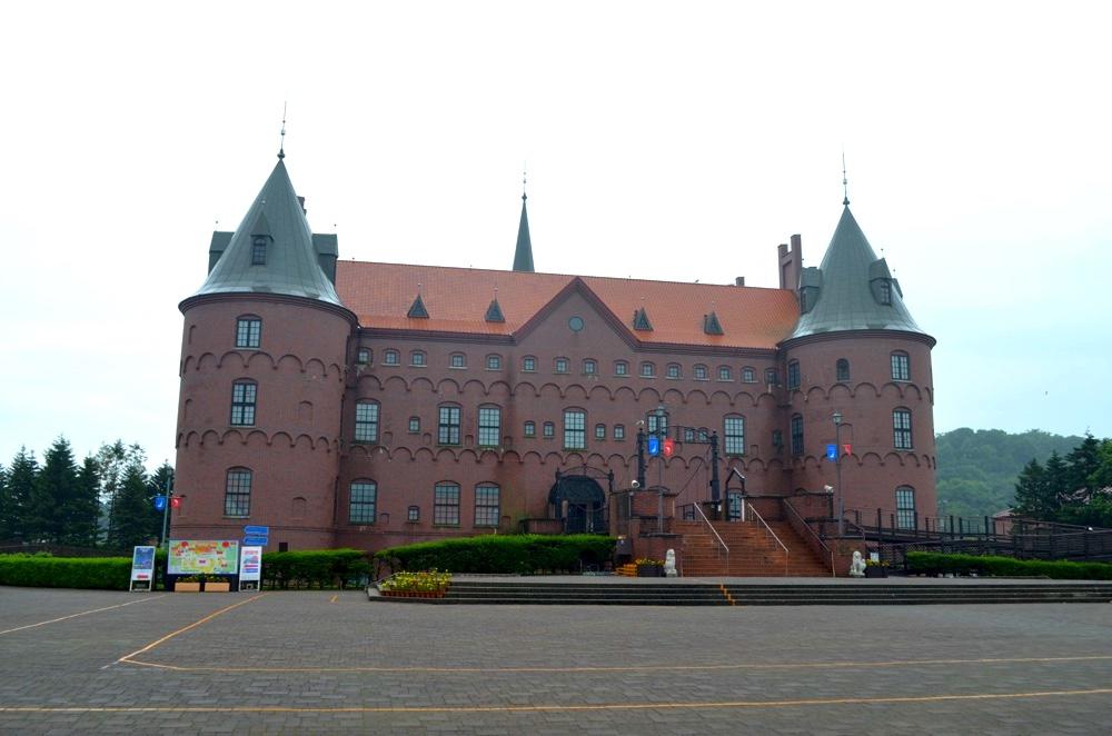 北欧のお城をイメージした登別マリンパークニクス