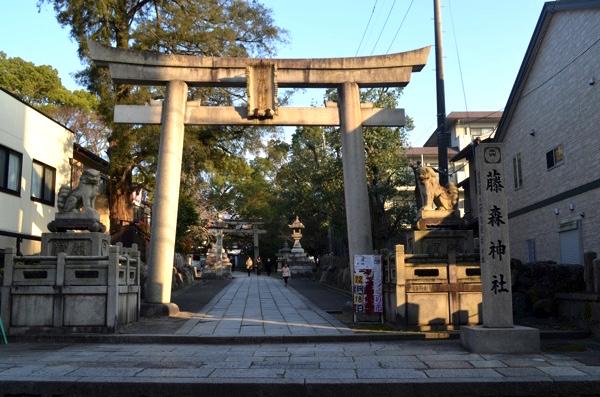 藤森神社の西門
