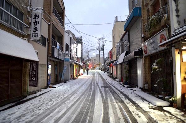 雪の日の伏見稲荷