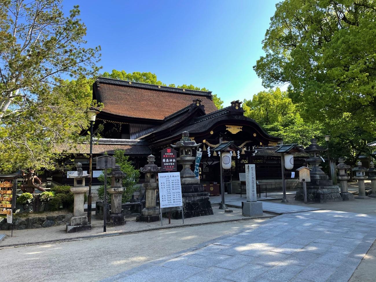 藤森神社の本殿