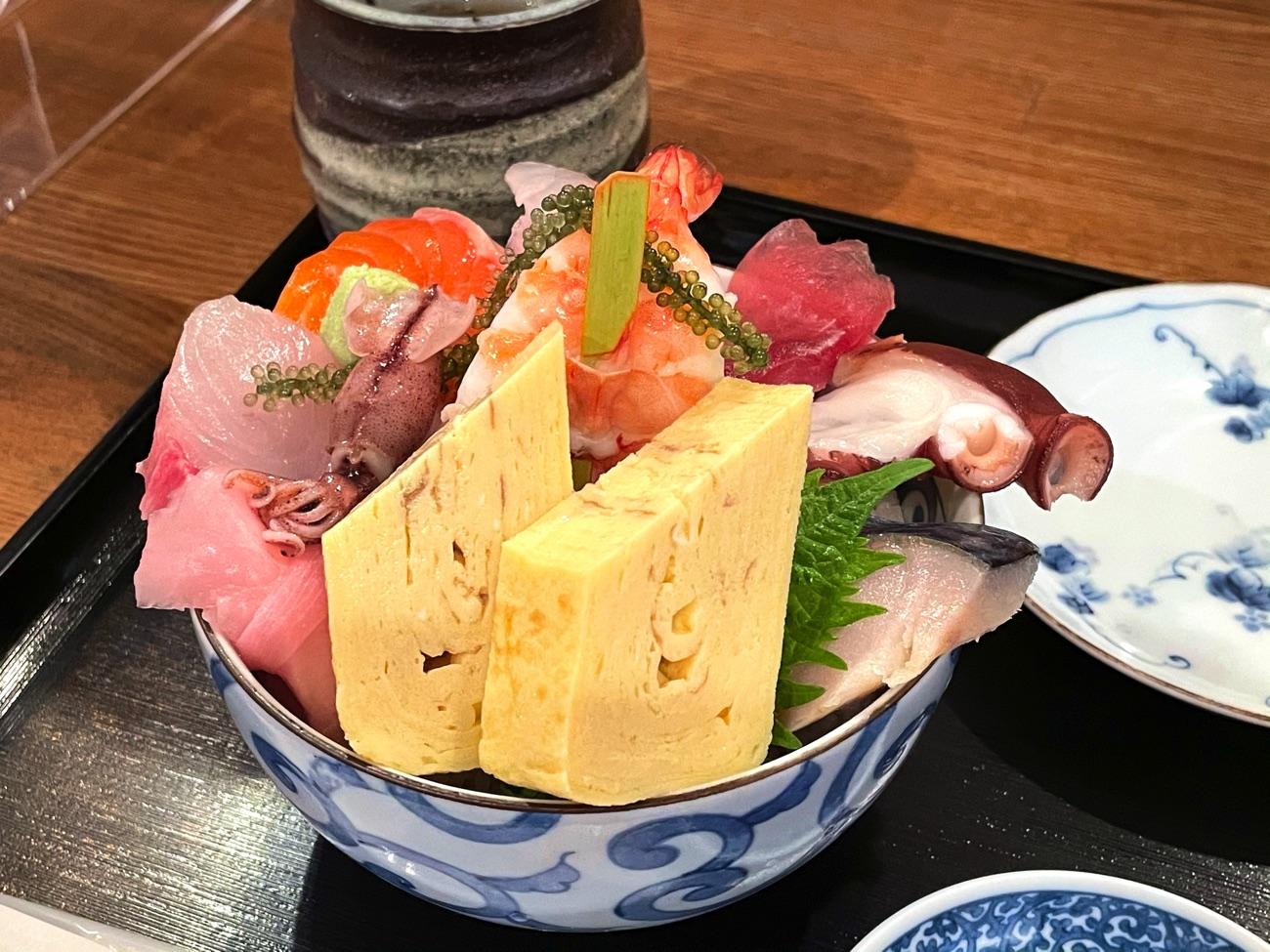 豪勢な海鮮丼!!