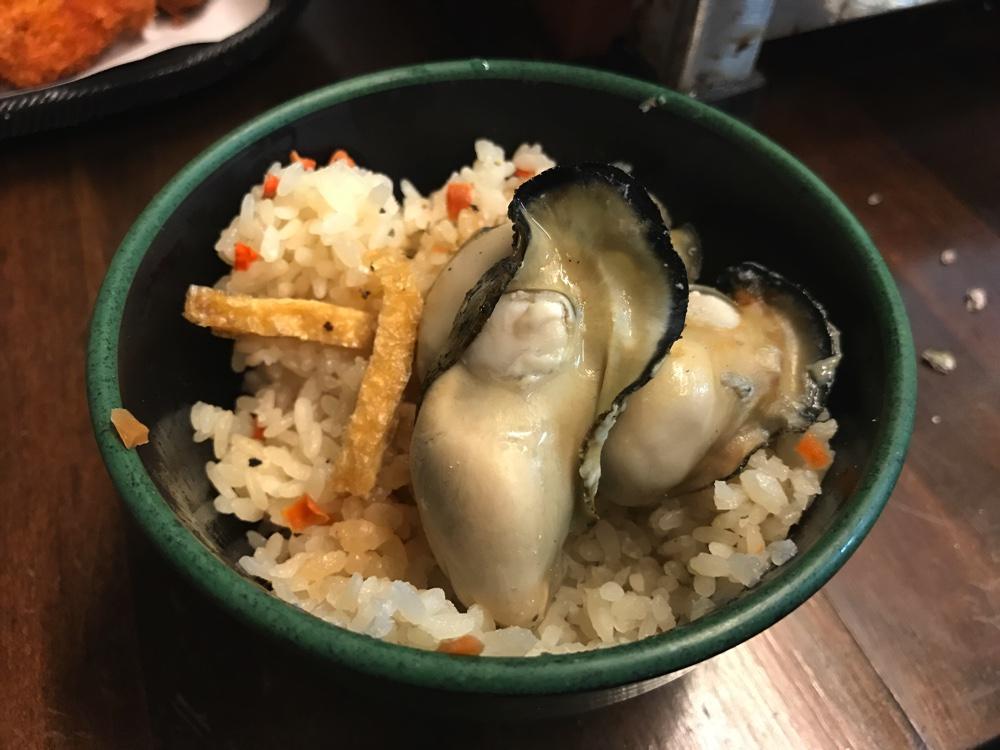牡蠣ごはん