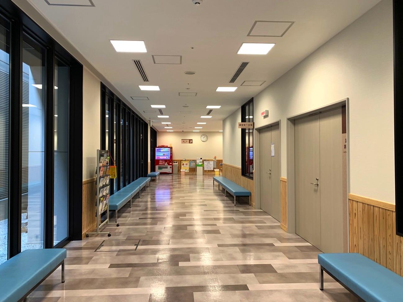 地下1階の通路