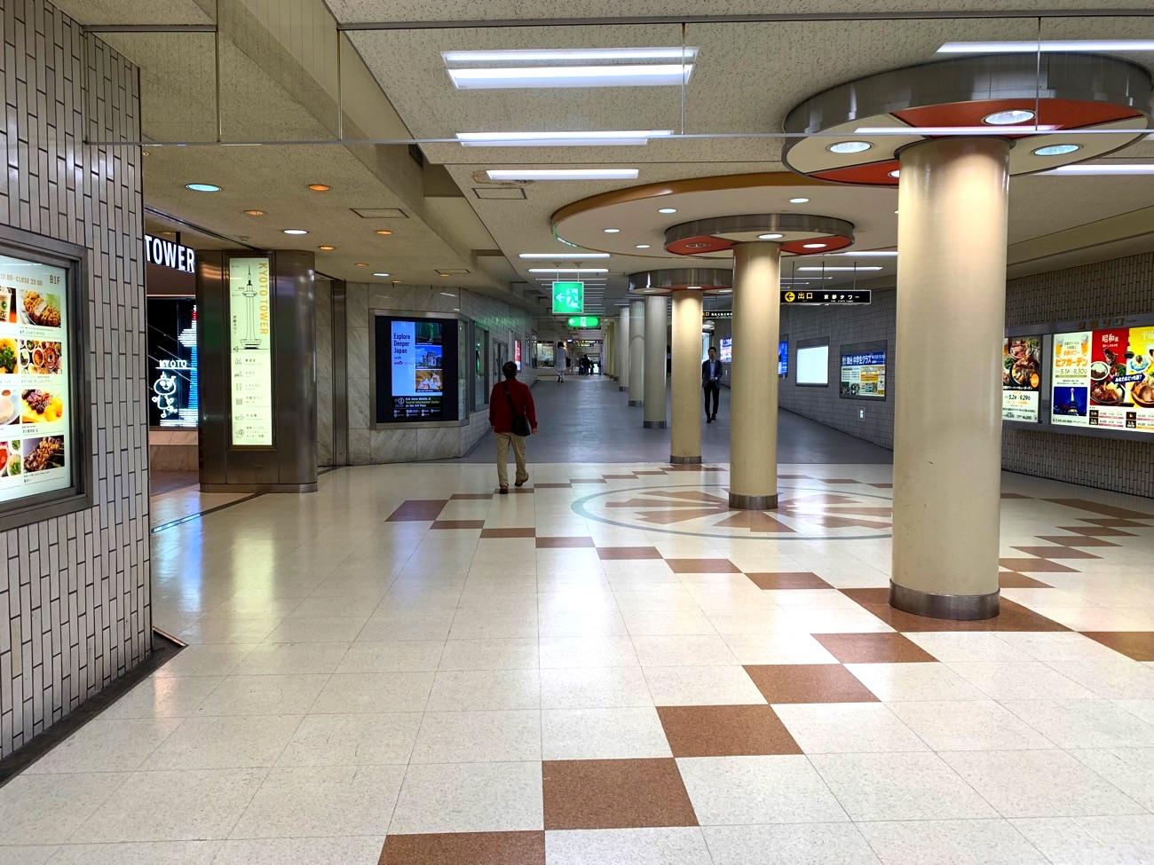 京都駅前地下街