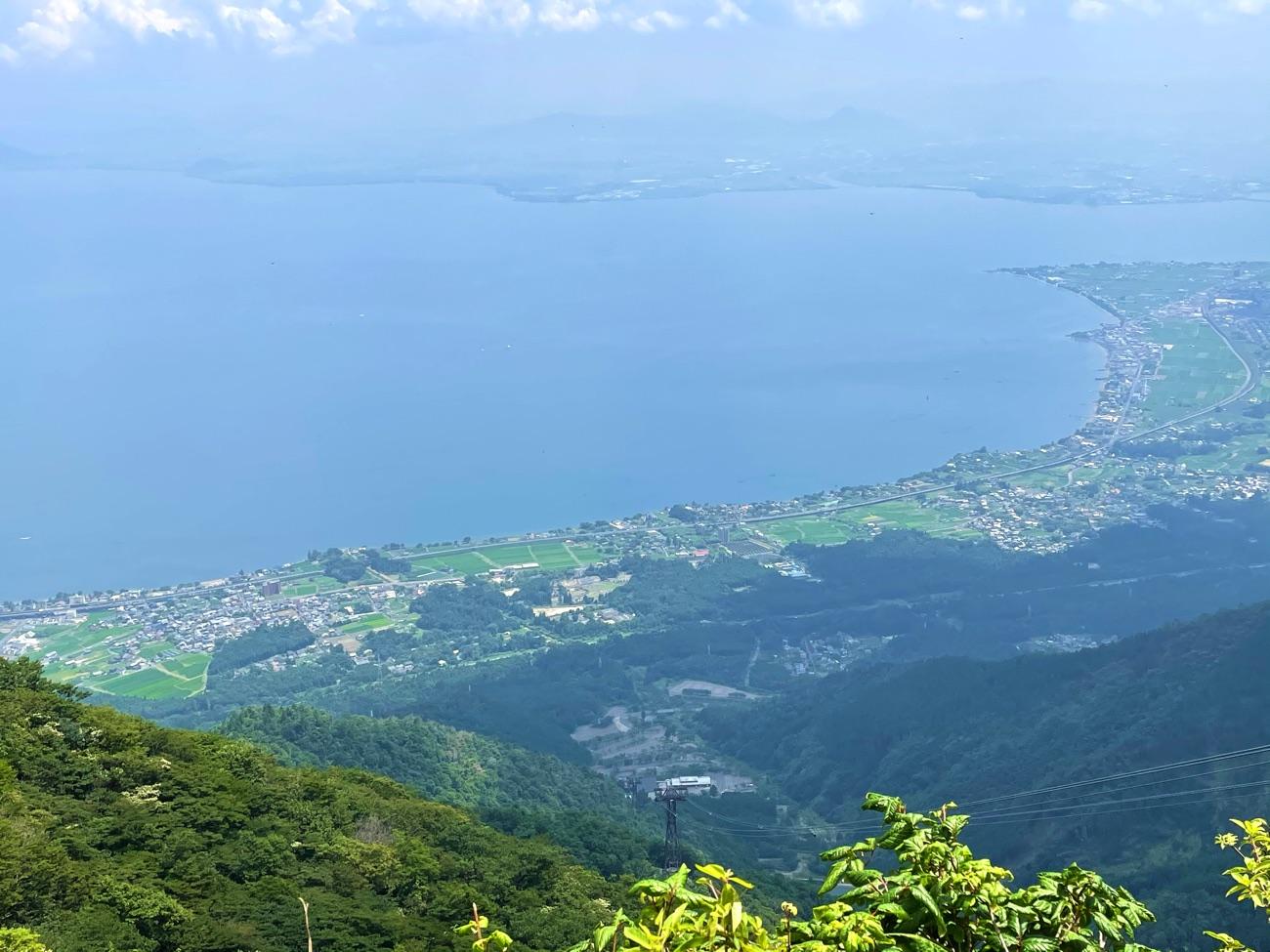 雄大な琵琶湖の景色