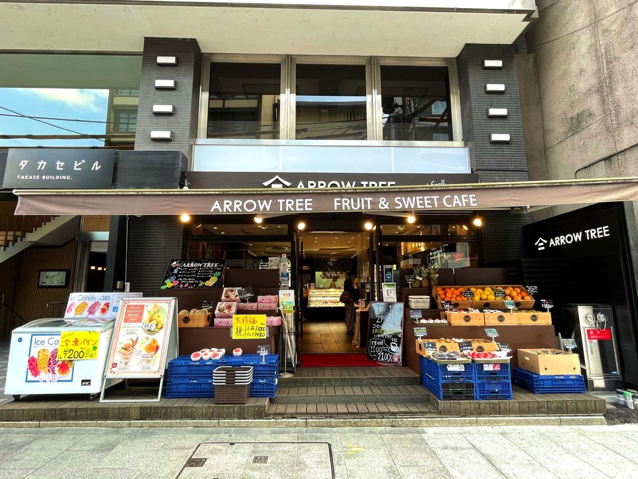 「ARROW TREE 京都三条店」の外観