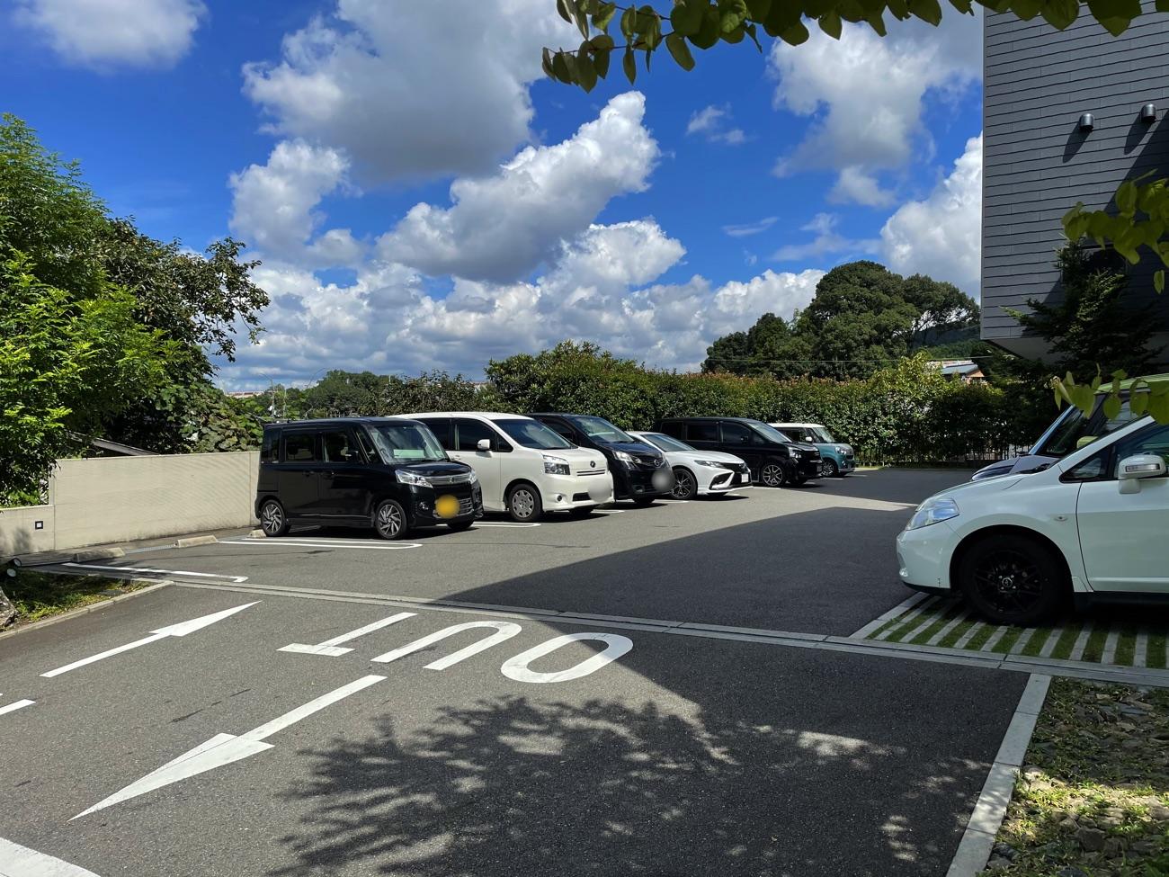 「菓寮 伊藤軒」の駐車場