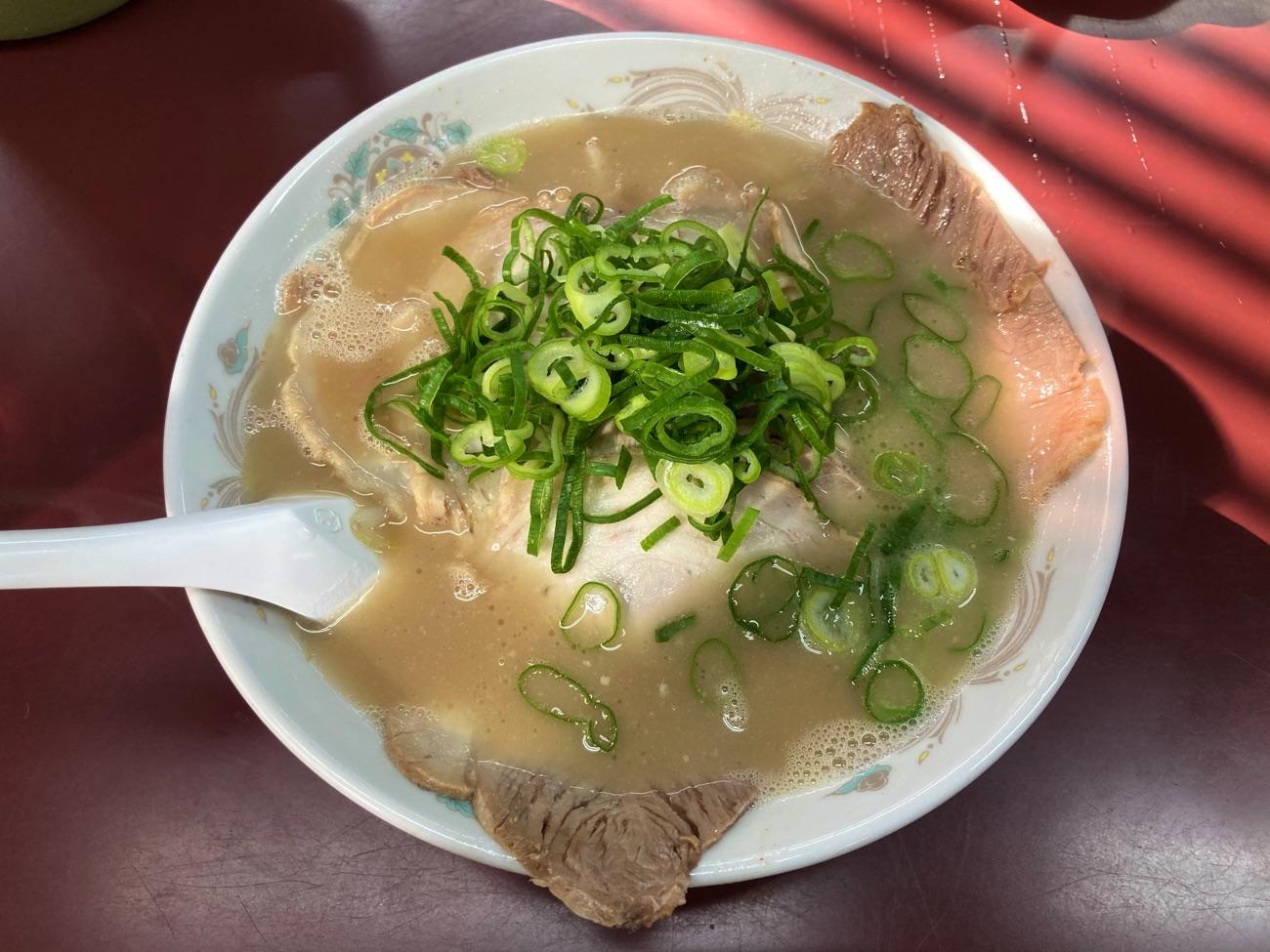 チャーシュー麺(680円)