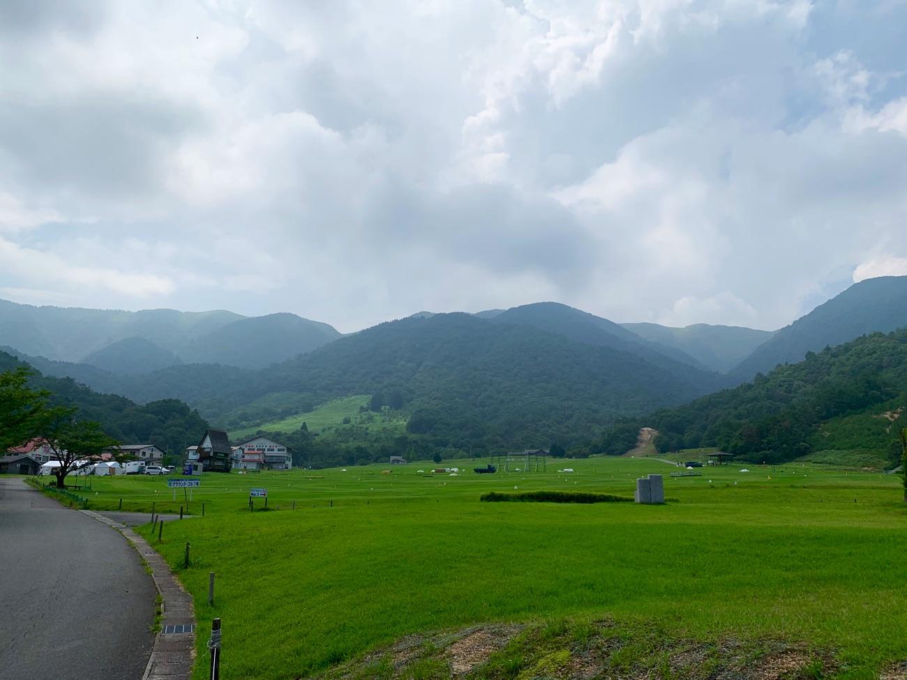 夏のマキノ高原