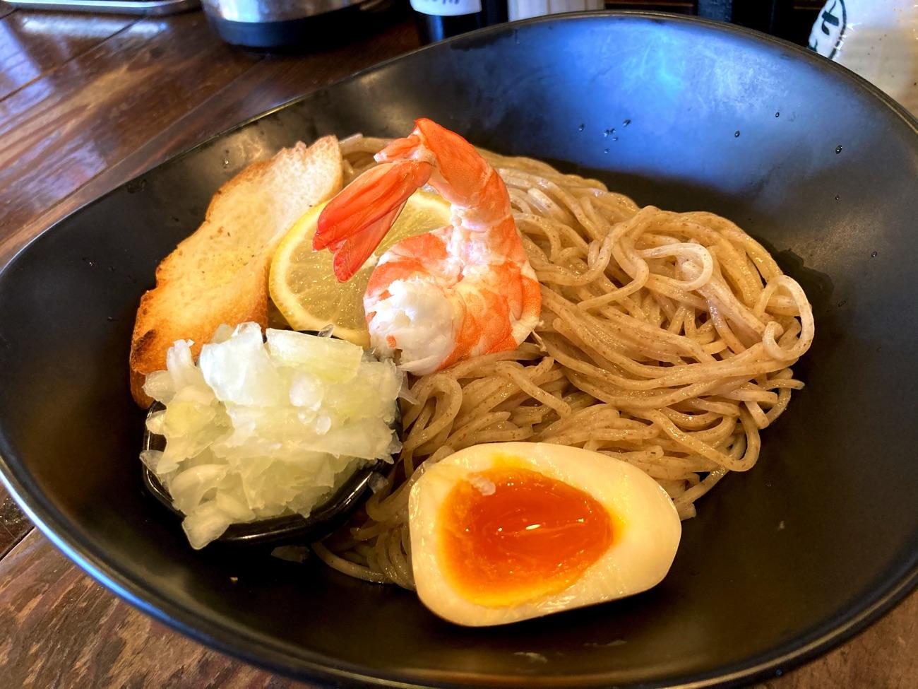 濃厚海老つけ麺