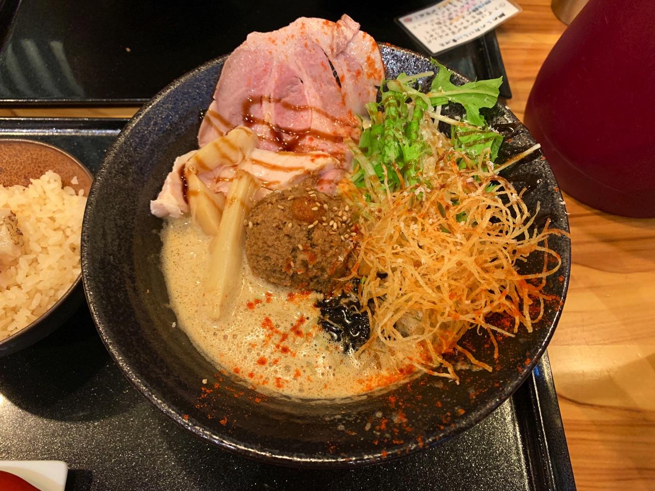 鯛×担々麺=鯛担麺