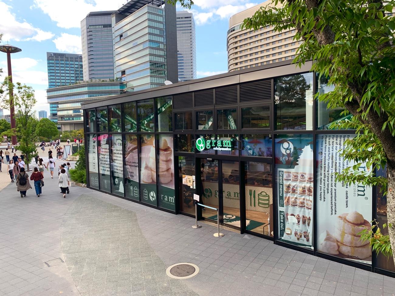 「gram 大阪城 城下町店」の外観