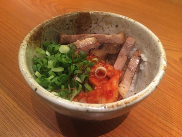 炙り豚丼(小)